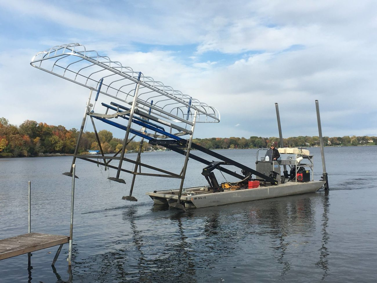 Boat Lift Services Amp Sales Waterfront Solutions